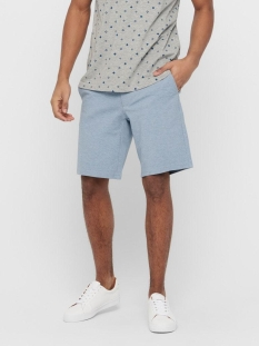 Only & Sons Korte broek ONSMARK REG MEL SHORTS GD 5832 NOOS 22015832 Light Blue