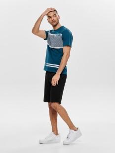 onsmark shorts gw 3786 noos 22013786 only & sons korte broek black