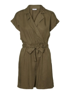 Noisy may Jumpsuit NMNATHALIE S/S ENDI BELT PLAYSUIT B 27011303 Olive Night
