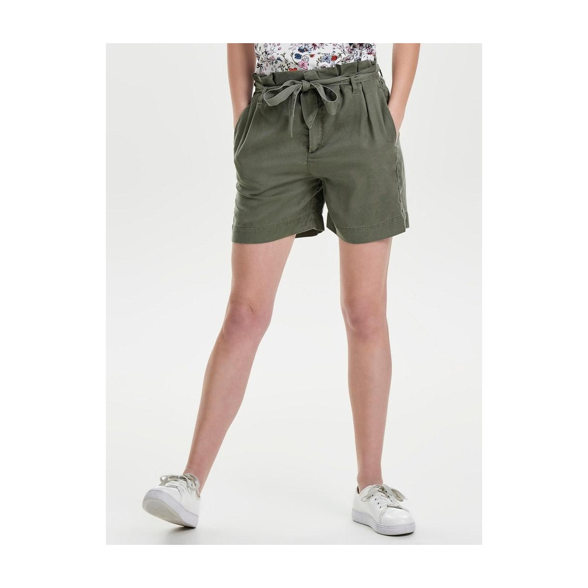 onlkira belt shorts pnt 15151645 only korte broek kalamata
