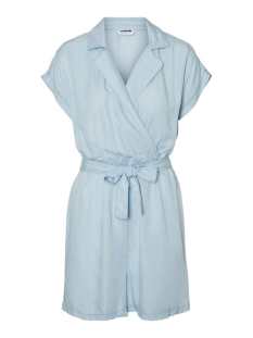 Noisy may Jumpsuit NMNATHALIE S/S ENDI BELT PLAYSUIT B 27011303 Light Blue