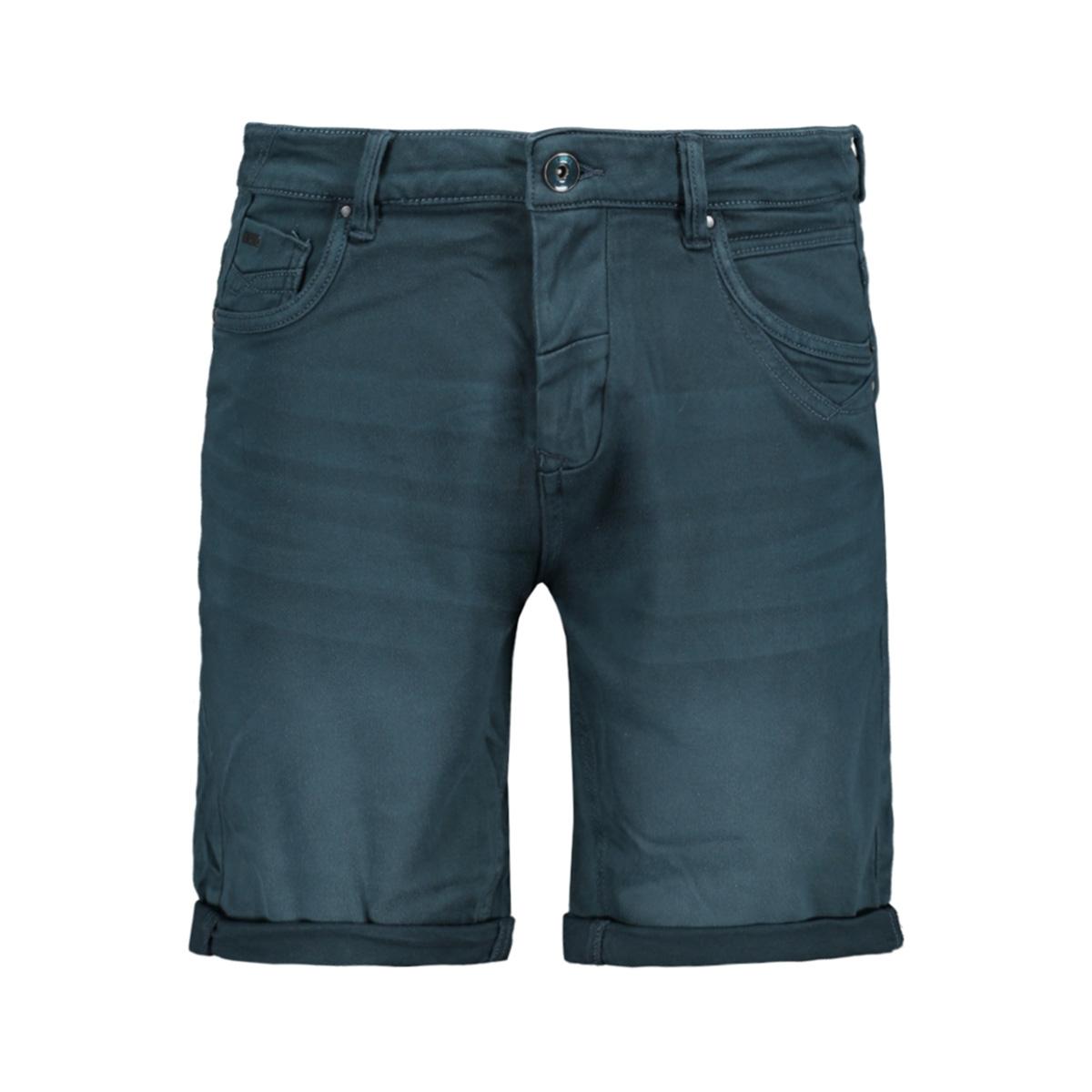colored denim stretch short 958190384 no-excess korte broek 124 dark steel