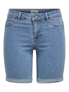 Only Korte broek ONLSUN ANNE K MID LONG SHORTS BJ152 15185316 Light Blue Denim