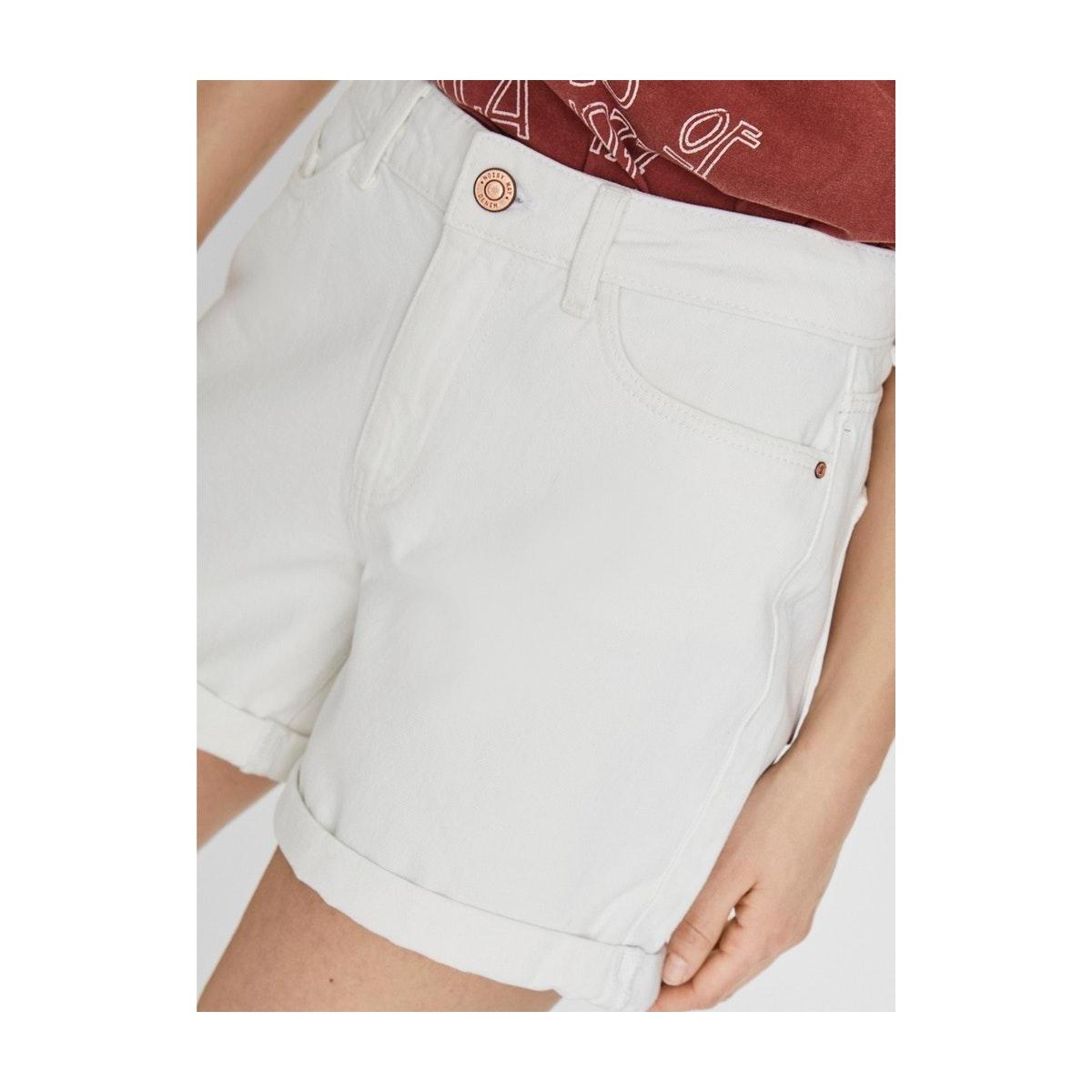 nmsmiley  nw  shorts vi067bw 27011992 noisy may korte broek bright white