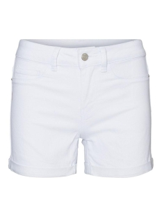 Vero Moda Korte broek VMHOT SEVEN NW DNM FOLD SHORTS COLOR 10225852 Bright White