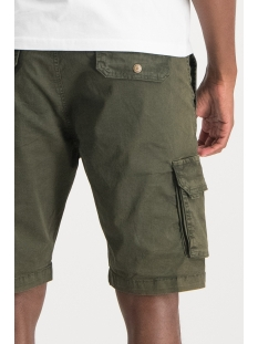 short cargo mu13 0516 haze & finn korte broek army green