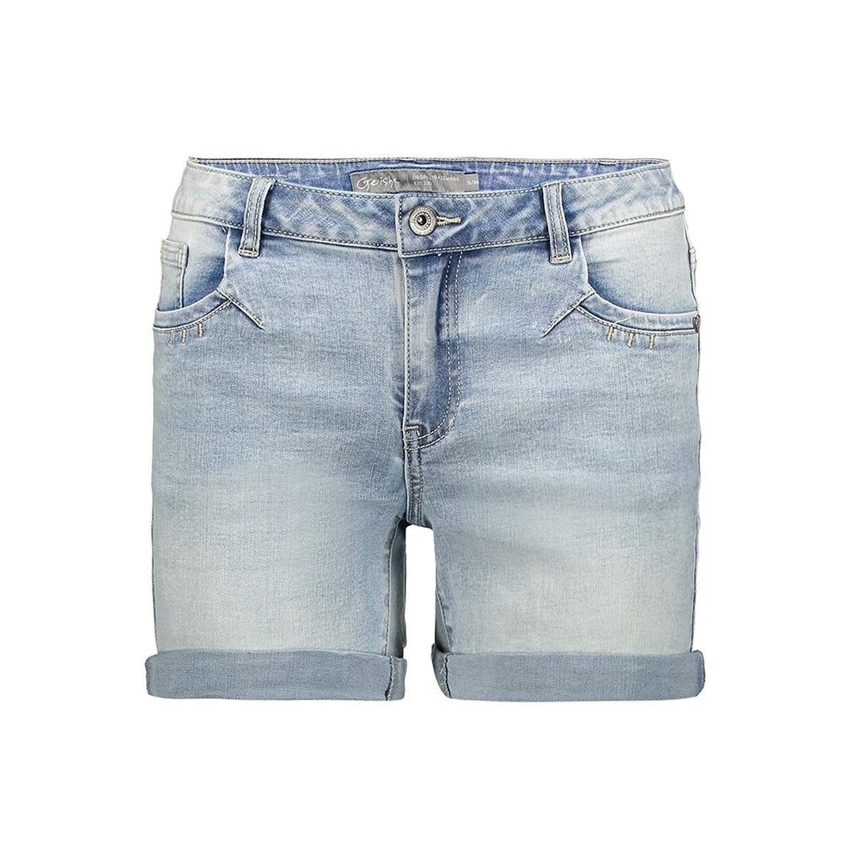 5 pocket short 01023 10 geisha korte broek bleached denim