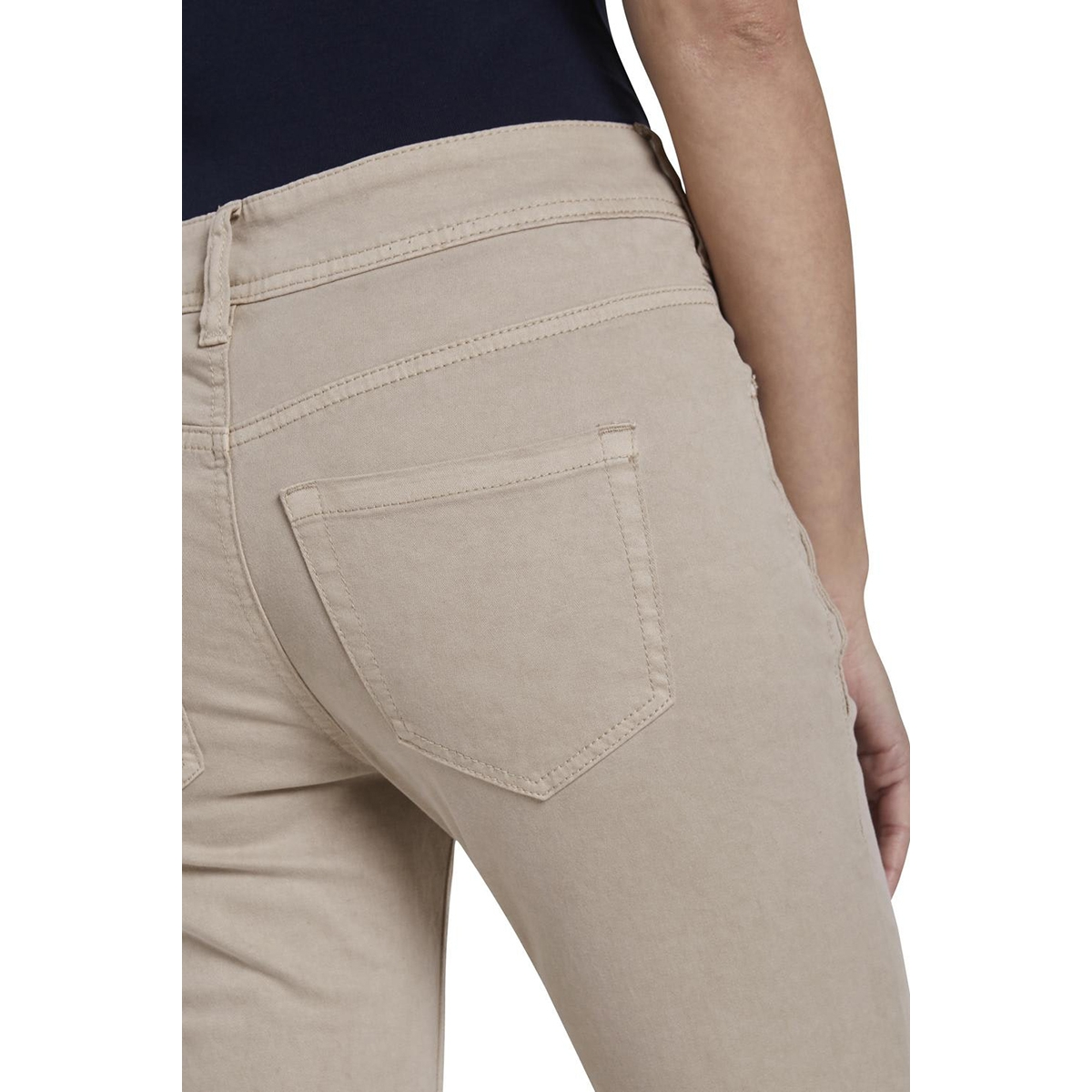 kate slim capri broek 1017636xx70 tom tailor broek 11376
