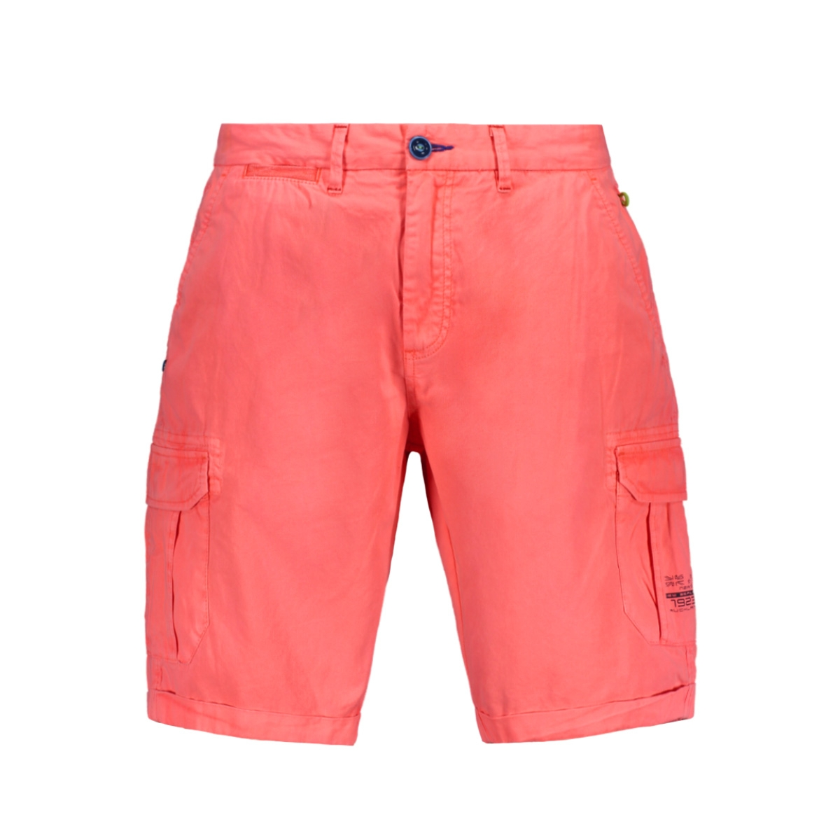 larry bay cargo 19cn630 nza korte broek 638 neon orange