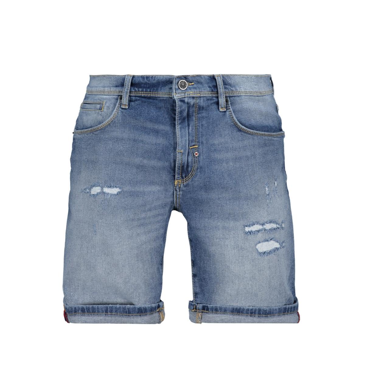 short skinny dave mmds00072 antony morato korte broek blue denim