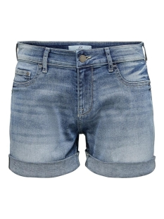 jdypolli life shorts mix dnm 15200824 jacqueline de yong korte broek medium blue denim