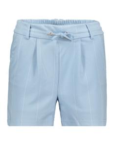 Only Korte broek ONLPOPTRASH TEMPO STRIPE SHORTS PNT 15179478 Cashmere Blue/W. WHITE P