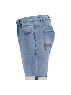 jog denim stretch short 958190301 no-excess korte broek 229 bleach denim