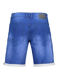 jog denim stretch short 958190301 no-excess korte broek 231 electric blue denim