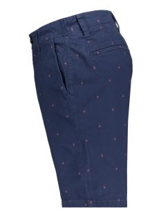 onsholm chino shorts aop pk 6081 22016081 only & sons korte broek dress blues