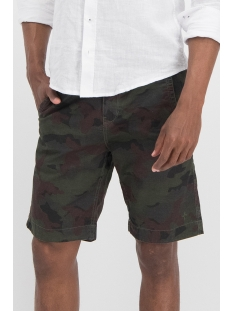 short casual ma13 0512 haze & finn korte broek army green-camo