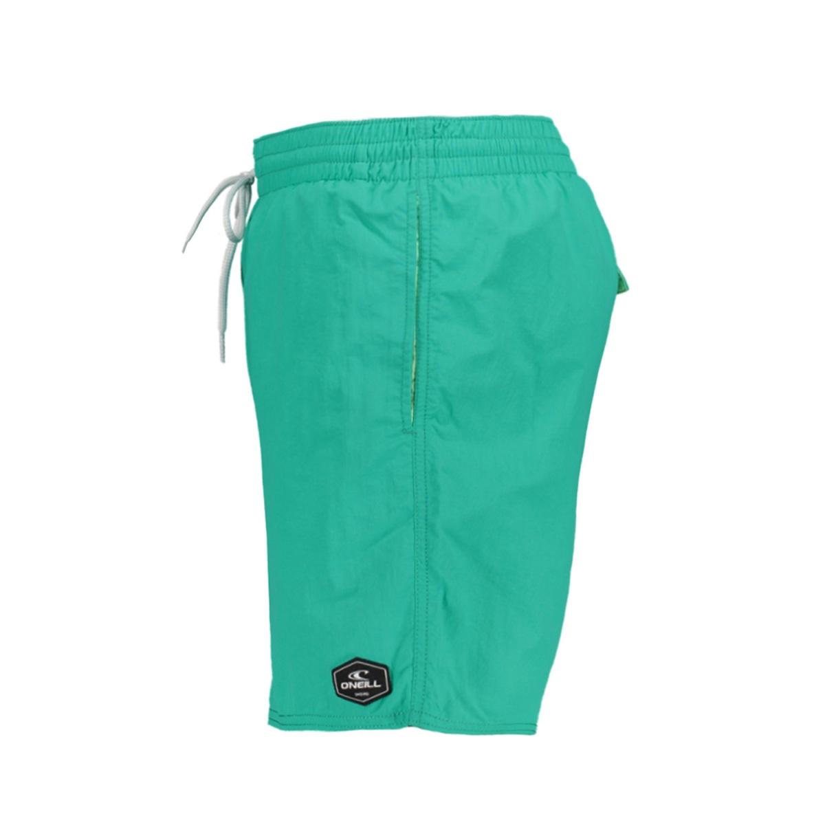 pm vert shorts 0a3240 o`neill korte broek 6151 salina green