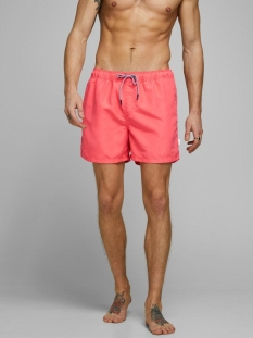 Jack & Jones Korte broek JJIARUBA JJSWIM SHORTS AKM STS 12166349 Hot Coral