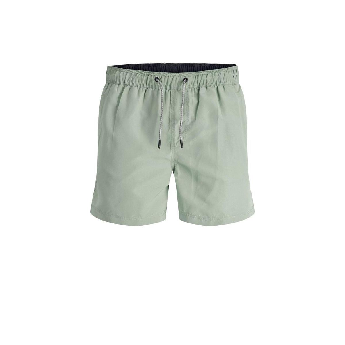 jjiaruba jjswim shorts akm sts 12166349 jack & jones korte broek green milieu