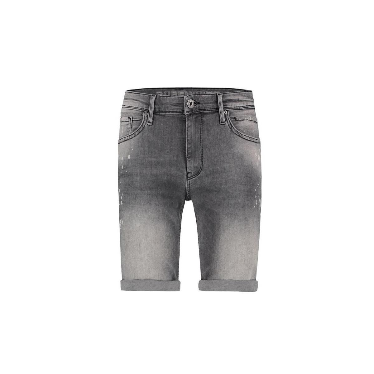 the steve w0463 purewhite korte broek 02 black