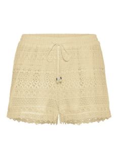 Vero Moda Korte broek VMHONEY LACE SHORTS EXP 10190155 Oatmeal