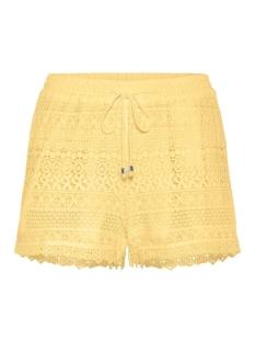 vmhoney lace shorts exp 10190155 vero moda korte broek pale banana