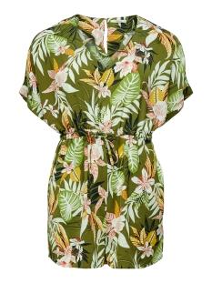 onllizbeth s/s playsuit wvn 15201235 only jumpsuit kalamata/jungle flower