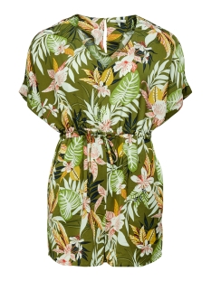 Only Jumpsuit ONLLIZBETH S/S PLAYSUIT WVN 15201235 Kalamata/JUNGLE FLOWER