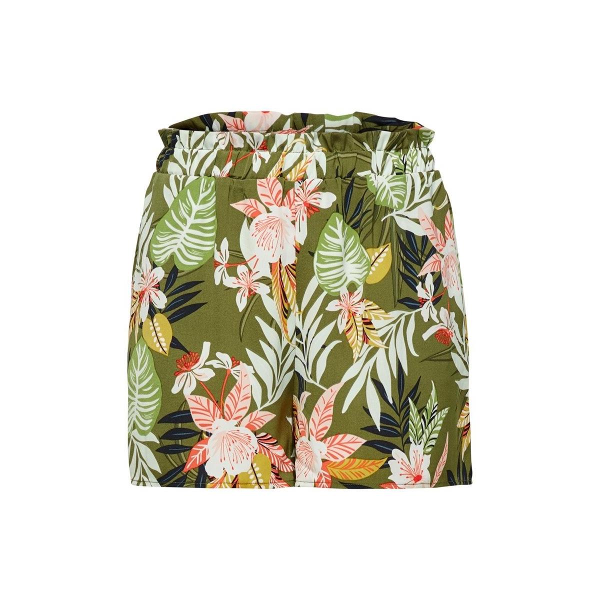 onllizbeth paperbag shorts wvn 15201246 only korte broek kalamata/jungle flo