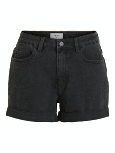 Object Korte broek OBJANNA BLACK DENIM SHORTS PB7 23031396 Black