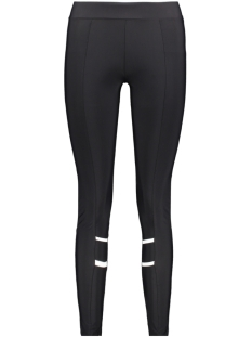fanny travel pant piping zoso legging black/off white