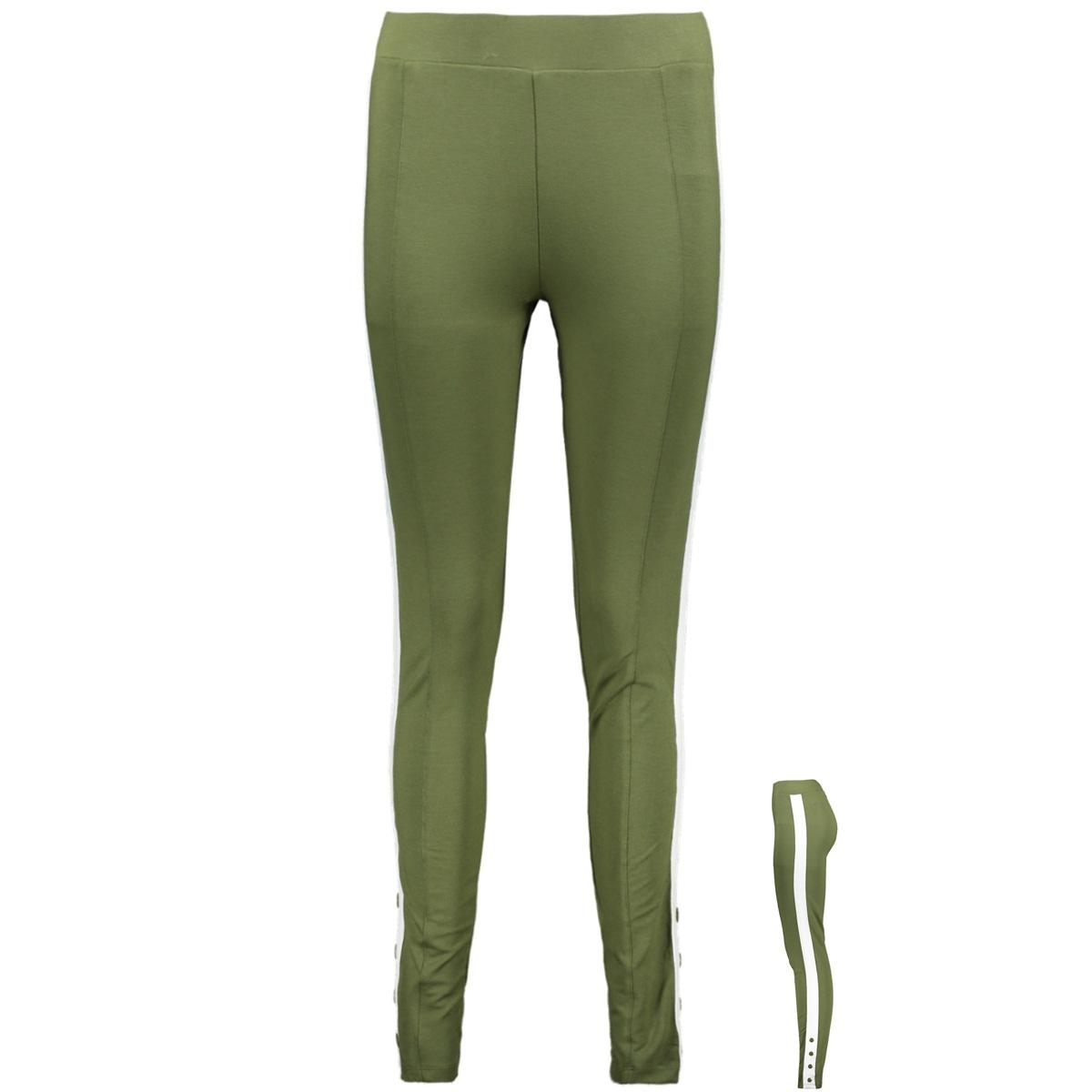 legging with button hr1920 zoso legging army/offwhite