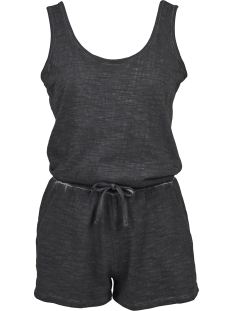 Urban Classics Jumpsuit TB1923 COLD DYE SHORT JUMP BLACK