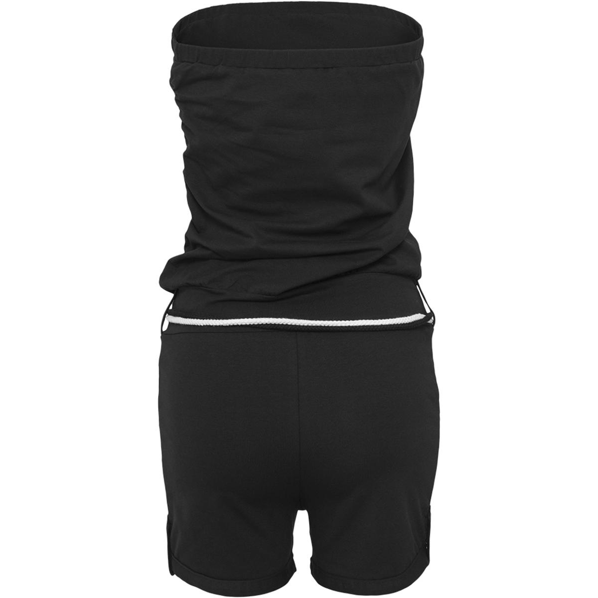 tb921 hot turnup jumpsuit urban classics jumpsuit black