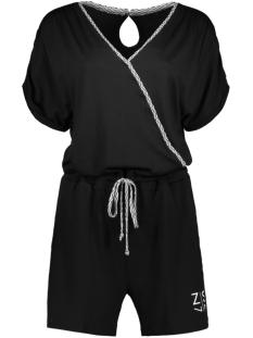 aiko short jumpsuit 193 zoso jumpsuit black