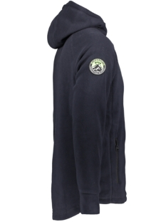 polar fleece ziphood m2000029a superdry vest total eclipse
