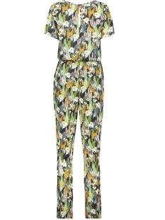jumpsuit s s giraffe 01142 geisha jumpsuit black/camel combi