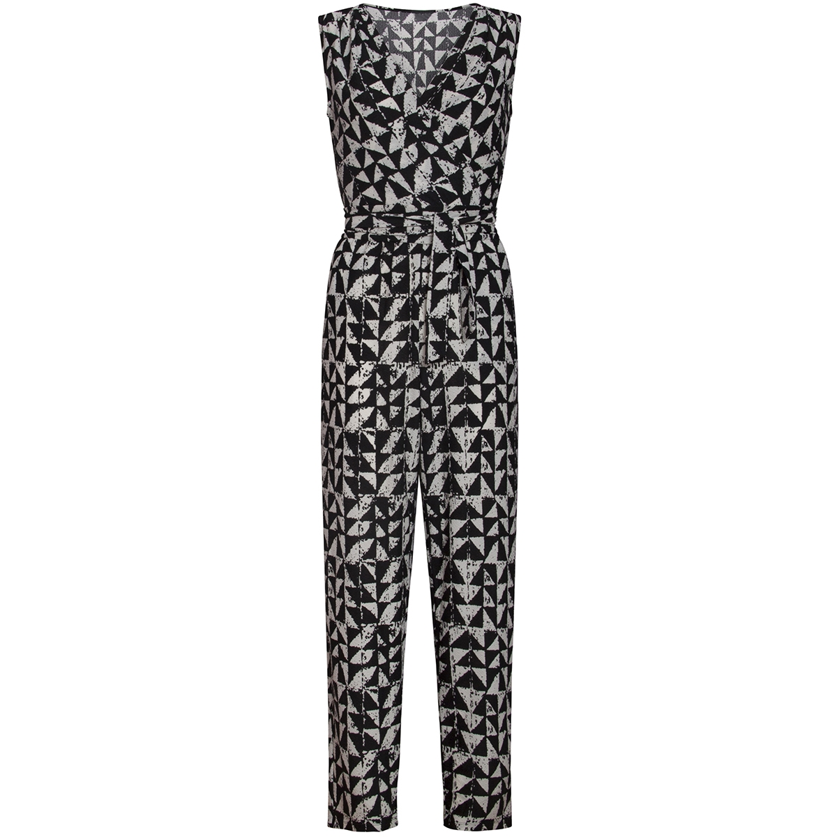 jumpsuit 20180 smashed lemon jumpsuit black/white
