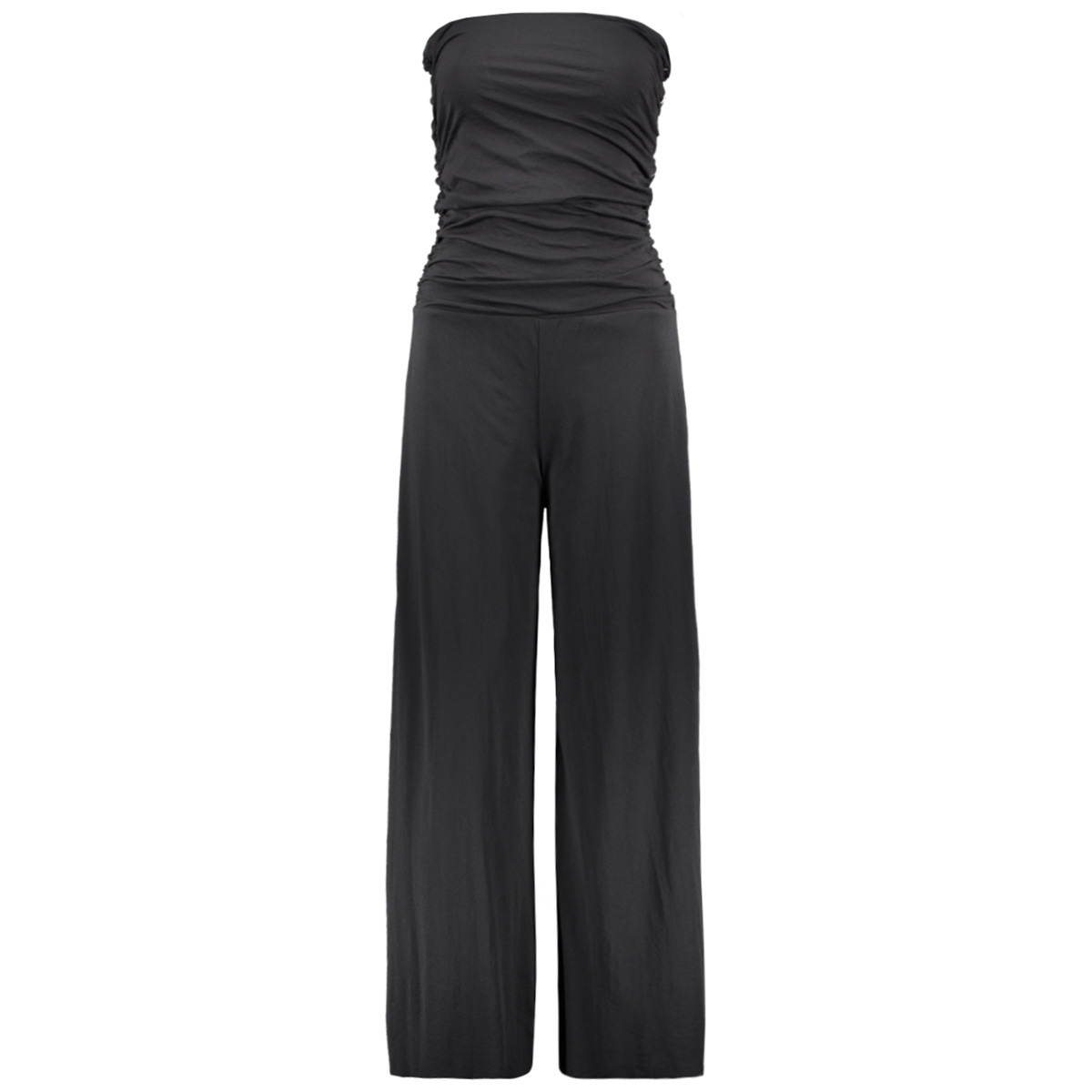 strapless jumpsuit 20 083 0201 10 days jumpsuit black