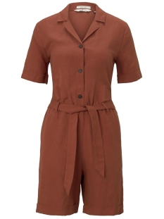 Tom Tailor Jumpsuit UTILITY KORTE JUMPSUIT 1019337XX70 13054