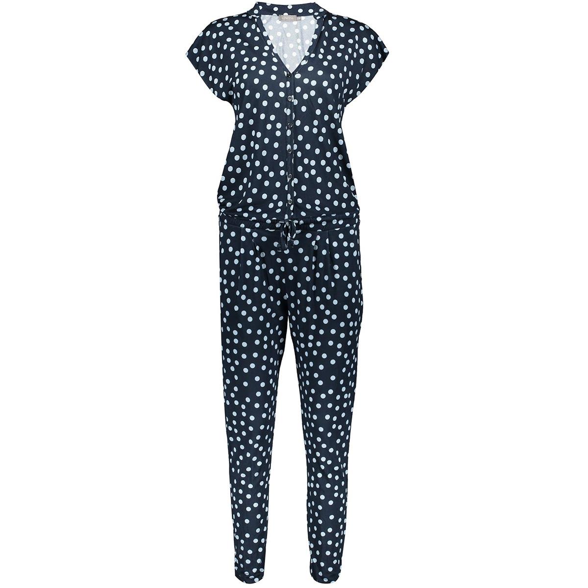 jumpsuit aop jersey cleo 01077 60 geisha jumpsuit navy/blue