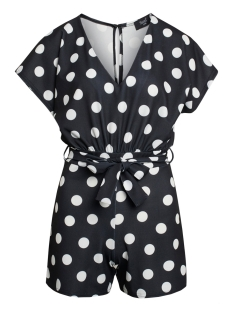SisterS point Jumpsuit GIRL V PLAY1 BLACK/CREAM