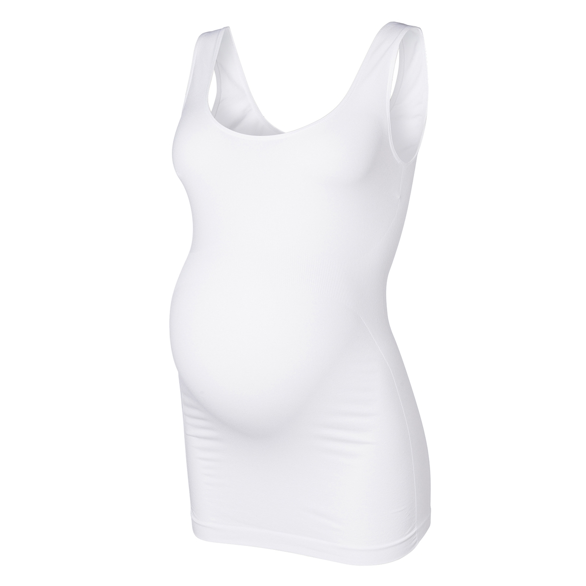 new heal tank top 20001421 mama-licious positie shirt optical white