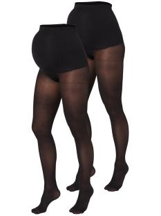 Mama-Licious Positiekleding Sabine Pantyhose 2Pack 20004668 black