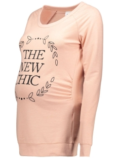 mltilda state sweat top 200005586 mama-licious positie trui misty rose