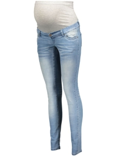 Mama-Licious Positie broek mlClara Slim Jeans 20006203 light blue denim