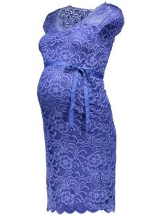 Mama-Licious Positiekleding mlNewMivana Cap Jersey Dress 20006241 Ultramarine