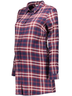 Noppies Positie blouse 60655 BLOUSE PLEUN C084 BORDEAUX