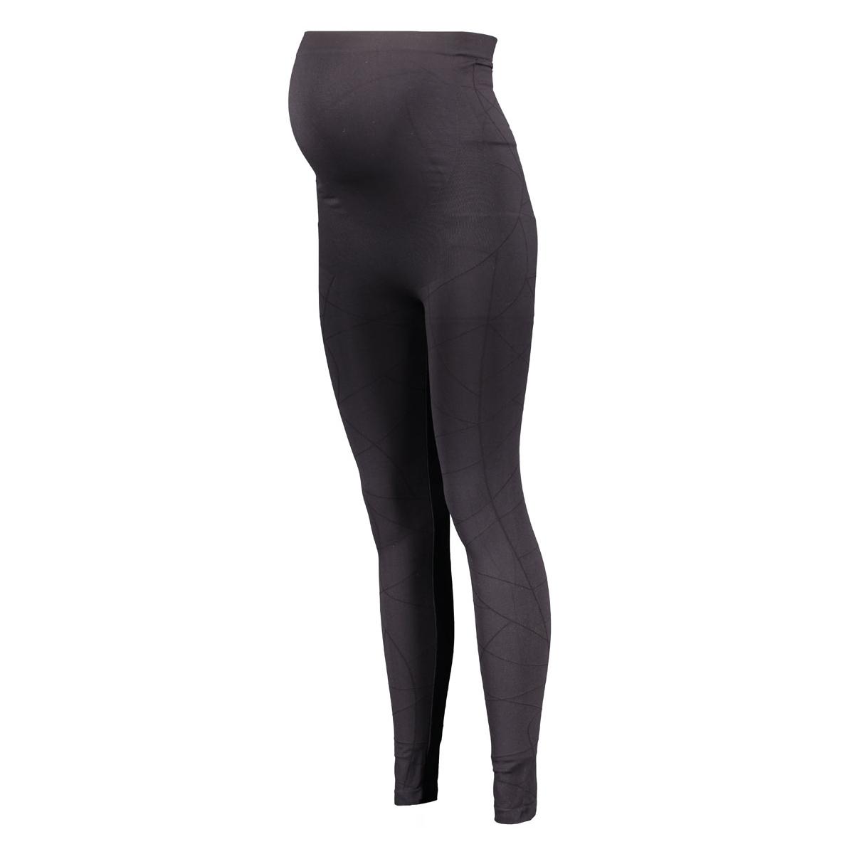 60754 legging jacq noppies positie broek black
