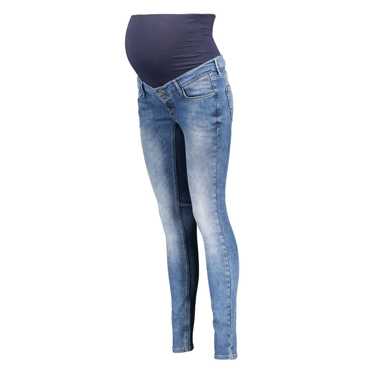 s0355 jeans otb skinny supermom positie broek med blue